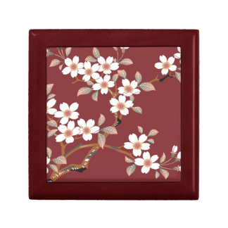 Japanese Cherry Blossoms Gift Box