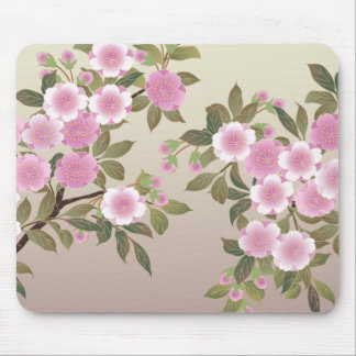 Japanese Cherry Blossoms Mouse Mat