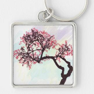 Japanese Cherry Tree Blossom Keychain