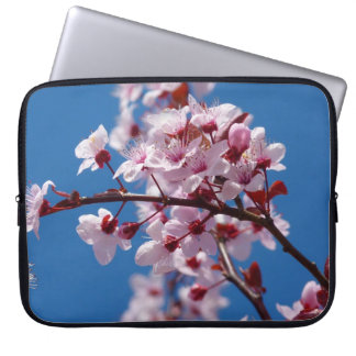 Japanese Cherry Tree Blossom Laptop Computer Sleeves