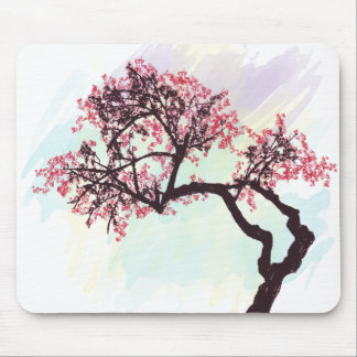 Japanese Cherry Tree Blossom Mousepad