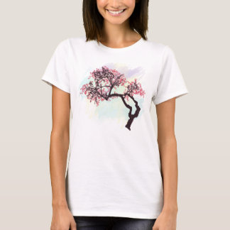 Japanese Cherry Tree Blossom T Shirt