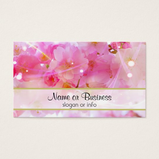 Japanese Cherry Tree with Pastel Pink Blossoms Business