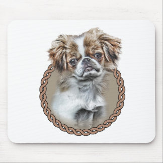 Japanese Chin 001 Mouse Mat