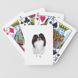 Japanese Chin A - Black and white Poker Deck