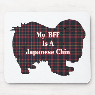 Japanese Chin BFF Gifts Mouse Pad