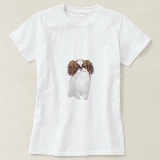 Japanese Chin (brown-white) T-shirts