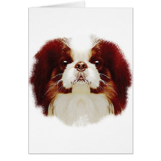 Japanese Chin Card