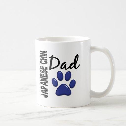 Japanese Chin Dad 2 Coffee Mugs