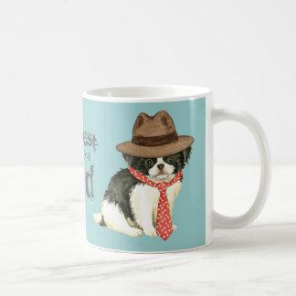Japanese Chin Dad Basic White Mug