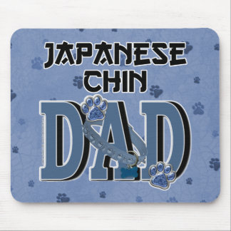Japanese Chin DAD Mouse Pads