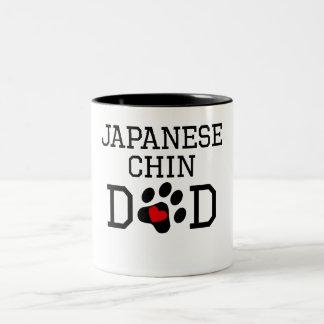 Japanese Chin Dad Coffee Mugs