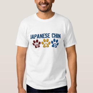 JAPANESE CHIN Dad Paw Print 1 Tshirts