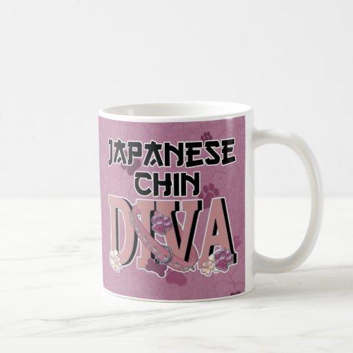 Japanese Chin DIVA Mugs