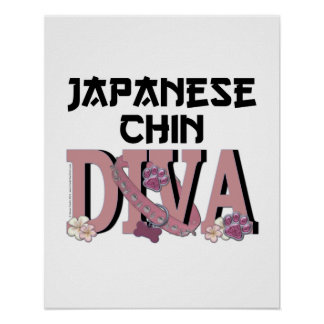 Japanese Chin DIVA Poster