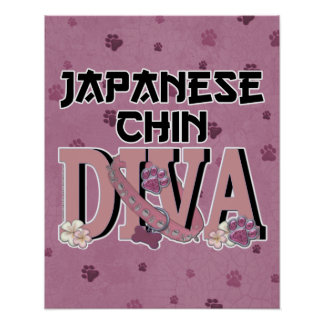 Japanese Chin DIVA Posters