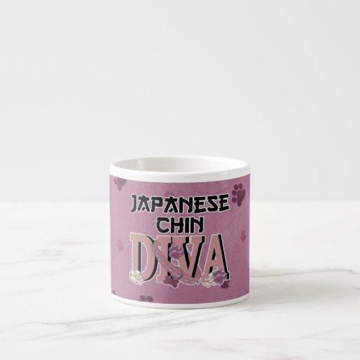 Japanese Chin DIVA Espresso Cup