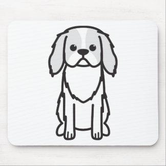 Japanese Chin Dog Cartoon Mouse Pad