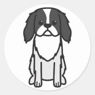 Japanese Chin Dog Cartoon Sticker