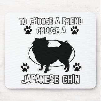 JAPANESE CHIN DOG designs Mousepad