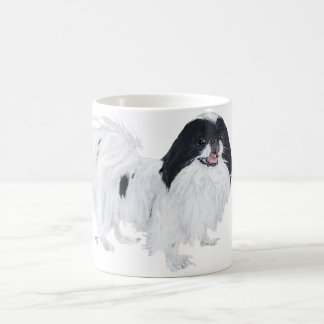 Japanese Chin Dog Classic White Coffee Mug