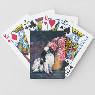 Japanese Chin Dog Playing Cards