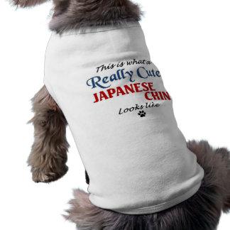 Japanese Chin Sleeveless Dog Shirt