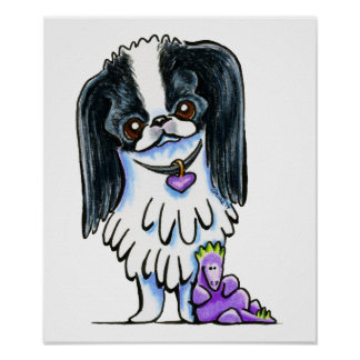 Japanese Chin Dragon Posters
