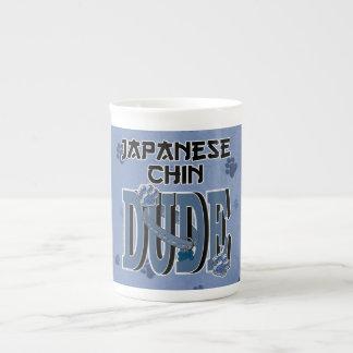 Japanese Chin DUDE Bone China Mug