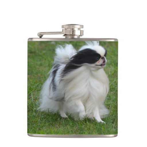 Japanese Chin Hip Flask