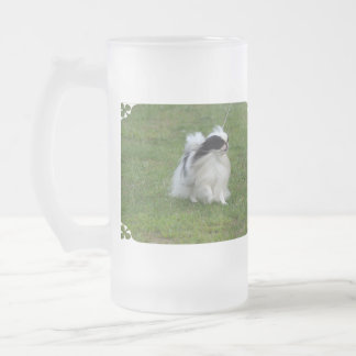 Japanese Chin Frosted Beer Mugs