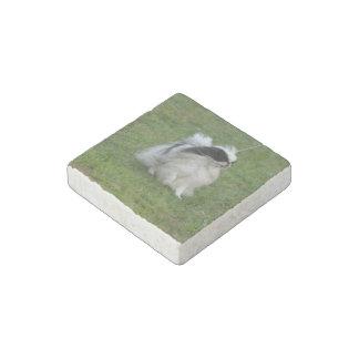 Japanese Chin Stone Magnet