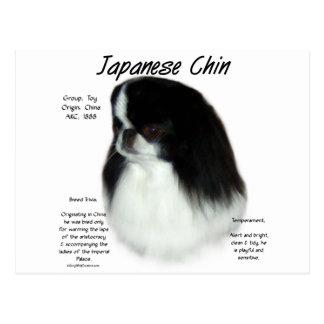 Japanese Chin History Design Postcards