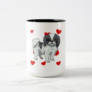 Japanese Chin Love Coffee Mugs