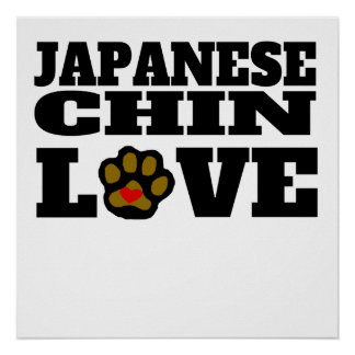 Japanese Chin Love Poster