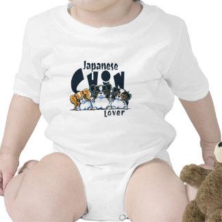 Japanese Chin Lover Baby Bodysuits