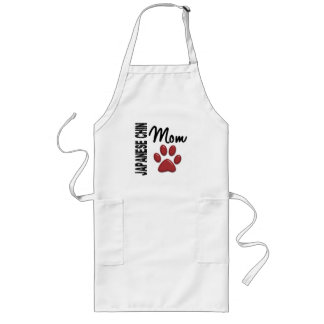 Japanese Chin Mom 2 Long Apron