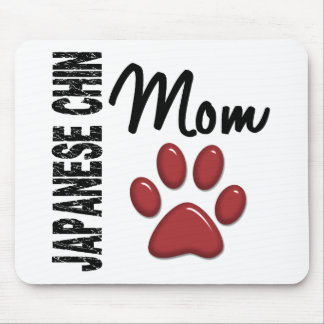 Japanese Chin Mom 2 Mousepads
