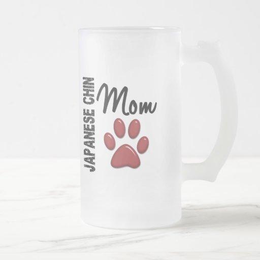 Japanese Chin Mom 2 Mugs