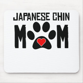 Japanese Chin Mom Mouse Pads