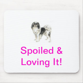 Japanese Chin Mouse Pads
