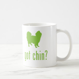 Japanese Chin Classic White Coffee Mug