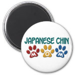 JAPANESE CHIN Mum Paw Print 1 Magnet