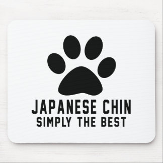 Japanese Chin Simply the best Mousepad