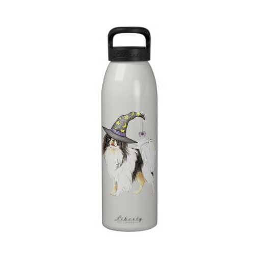 Japanese Chin Witch Reusable Water Bottles