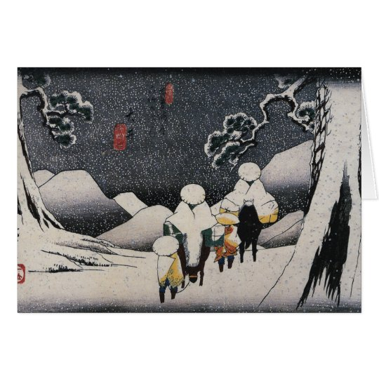 Japanese Christmas Cards for the Holidays