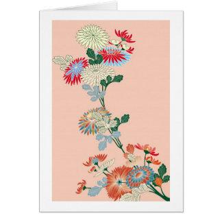 Japanese Chrysanthemum Card