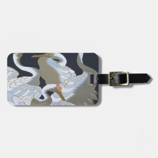 JAPANESE CRANE LUGGAGE TAG