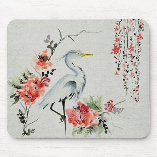 Japanese Crane Mouse Mat