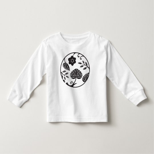 Japanese Crest 0048 - flowers and leaves Toddler T-Shirt